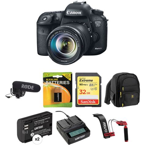 Canon Eos 7d Lensa Kit 18 135mm 18 Mp canon eos 7d ii dslr with 18 135mm lens and