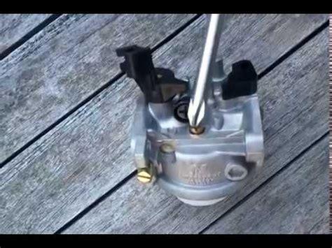 step  step honda gcv  carburetor cleaning  correct  funnycattv