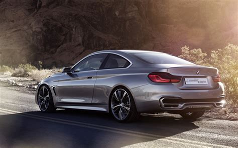 bmw 4 coupe bmw 4 series coupe concept rear three quarter 10 photo 18