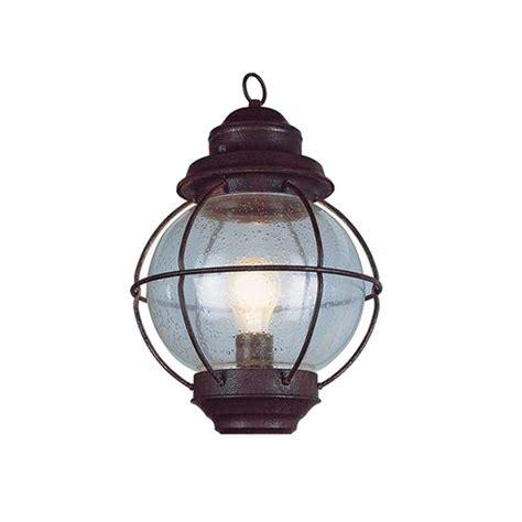 Bel Air Lighting Lighthouse 1 Light Outdoor Hanging Rustic Lantern Light