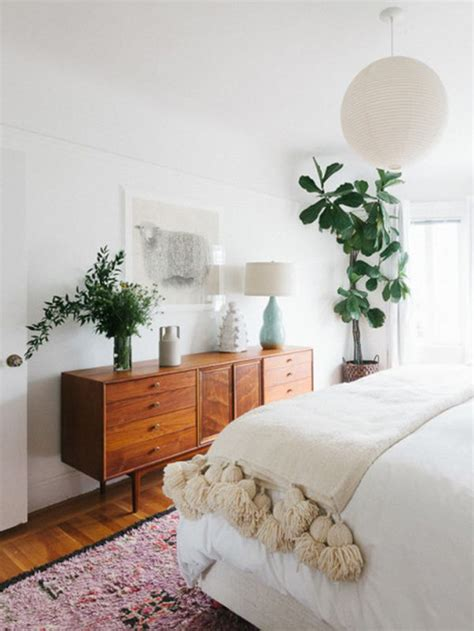 White Bohemian Bedroom Decor by White And Neutral Spaces House Of Hipsters