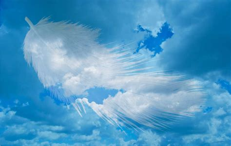Cloud L messengers and guides of the spirit