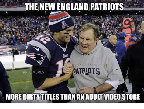 Nfl Memes Patriots - the new england patriots memes more dirty titles than an