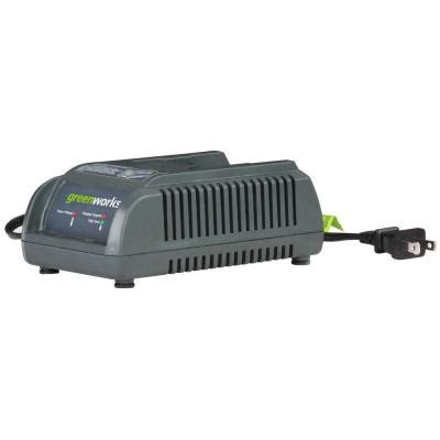 greenworks 20 volt lithium battery charger 29247 the