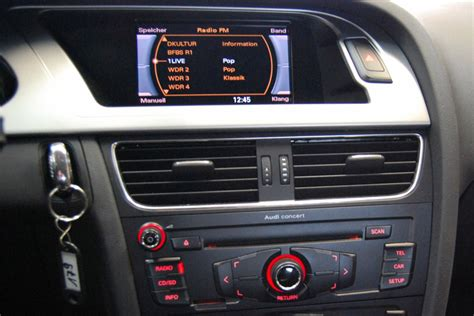 Audi Radios by Audi A4 S4 Rs4 A5 B8 Gps Navigation Dvd Car Stereo 2007