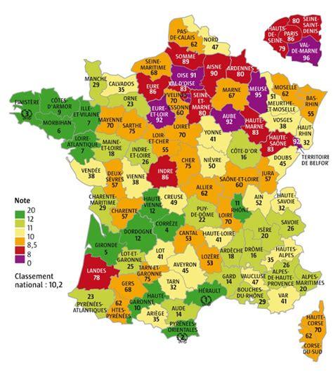 infos sur carte departements france  arts  voyages