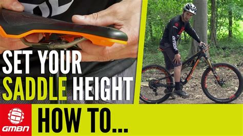 mountain bike seat height adjustment how to set your saddle height mtb pro tips
