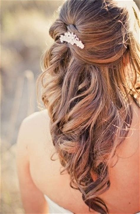 hairstyles for long hair half up half down bridal hairstyles for long hair half up half down 2014