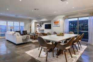 livingroom restaurant stylish modern home in wandi perth australia