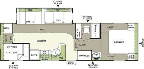 rockwood fifth wheel floor plans 2004 forest river rockwood fifth wheel rvweb com
