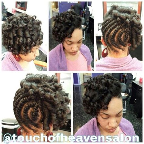 how to salvage flexi rod hairstyles flat twist natural hair flexi rod set on natural the