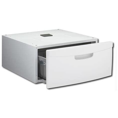 Samsung Washer And Dryer Pedestals White samsung we357a0w washer dryer 15 inch laundry pedestal w 26 lb storage capacity neat white