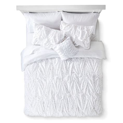target bed in a bag queen metallic dot bed in a bag with sheet set xhila target