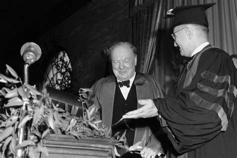 when was the iron curtain speech given iron curtain speech by winston churchill