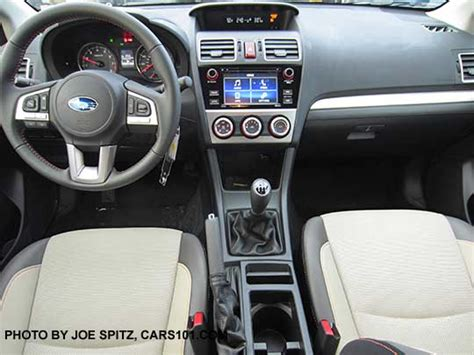 subaru crosstrek 2017 interior 2017 crosstrek premium interior with warm ivory cloth