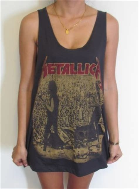 Blouse Metalica Blouse metallica vest tank top singlet t shirt rock slayer
