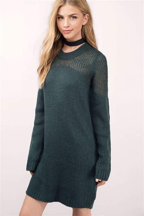 knit dress green dress sleeve dress teal sweater