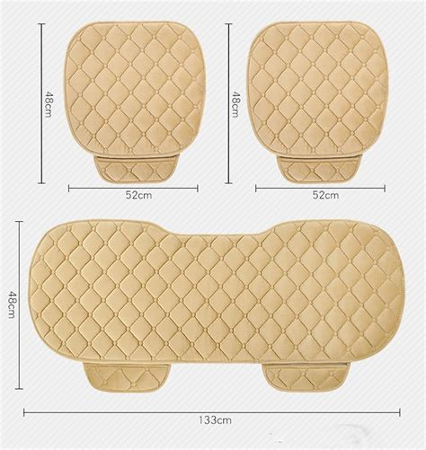 Seat Cushion 3 lewu car seat cover seat cushion 3 pcs set driver