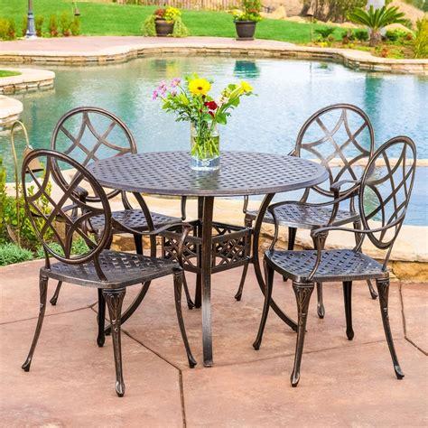 cast aluminum cast aluminum outdoor dining set