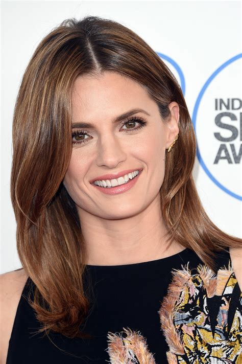 flip hairstyles 2015 stana katic flip lookbook stylebistro