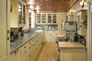 Vintage Style Kitchen Cabinets by American Colonial Interior Design Dwell Candy