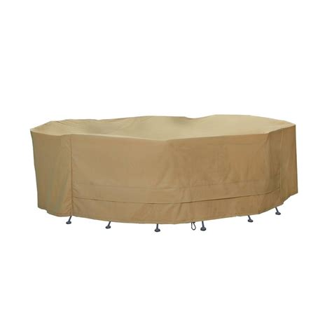 hearth garden polyester oversized x large patio table