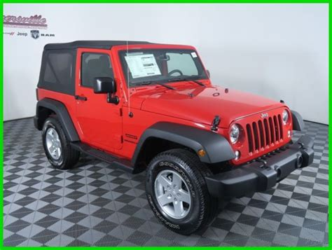 Soft Top Jeep Wrangler 1c4ajwag7gl265653 Easy Financing New 2016 Jeep