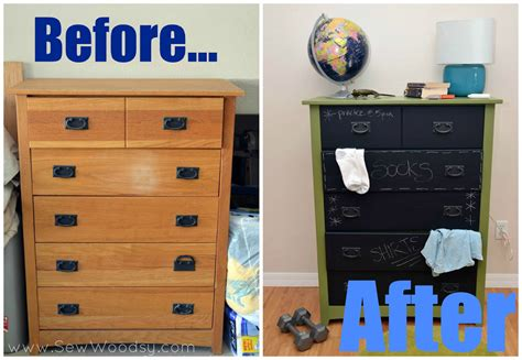 painted furniture ideas before and after diy chalkboard furniture for kids home design inside