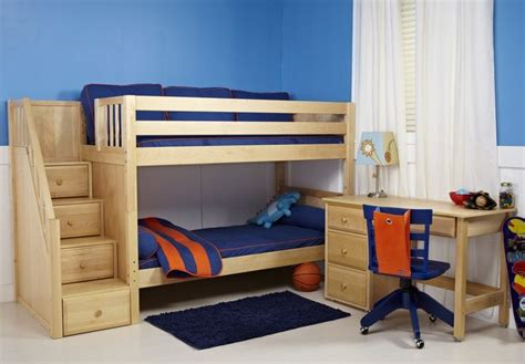 Cribs To College Bunk Beds Maxtrix Bunk Beds W Stairs Maxtrix Rooms To Grow Crib To College