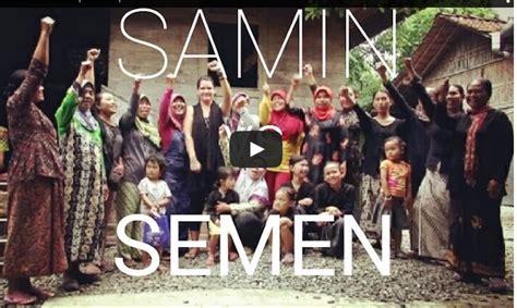 naskah film dokumenter wisata film dokumenter samin vs semen kmpp semarang