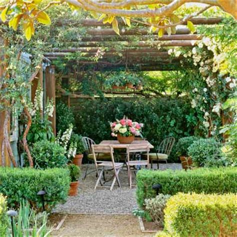 cottage garden patio 3 paths and pergolas 8 essential elements for planning