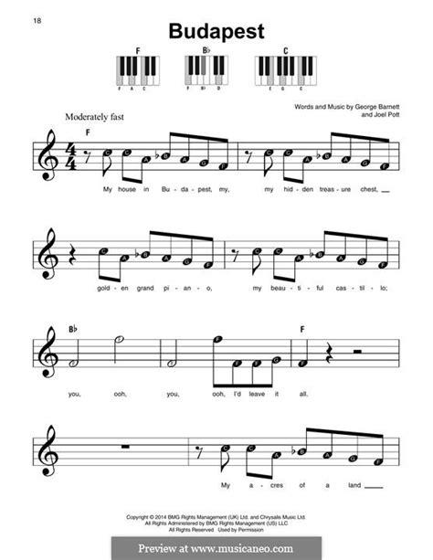 budapest by j pott g e barnett sheet music on musicaneo budapest by j pott g e barnett sheet music on musicaneo
