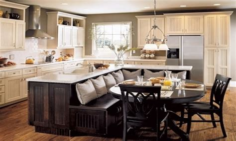 kitchen island with table seating sofa table with stools kitchen island with booth seating