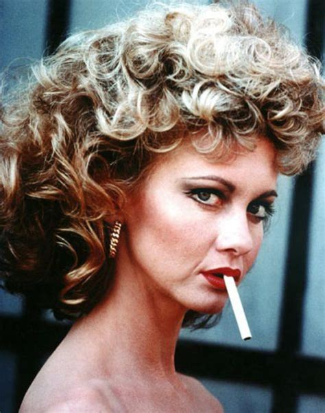 make your hair look like olivia newton john famous smoking movie characters 15 pics picture 10