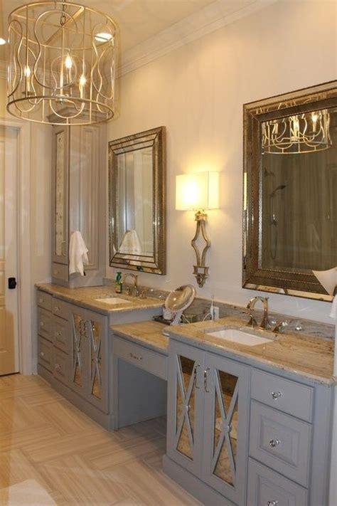 beautiful small bathroom smallchichome com bathroom pinterest small bathroom small space trick mirrored cabinetry will make a tiny