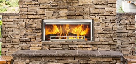 outdoor lifestyles longmire wood fireplace