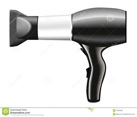 Hair Dryer Stock Clip hair dryer grey illustration stock image image 14835621