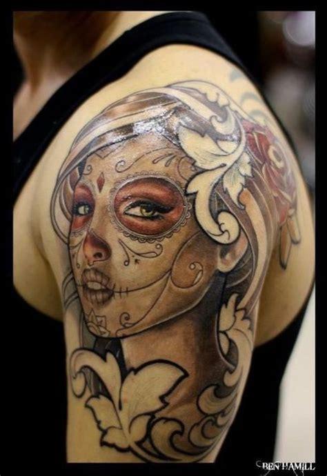 beautiful women tattoos beautiful sugar skull future tattoos