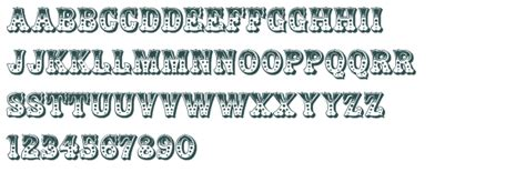 decorative styles decorative stylistic zebrawood regular regular font