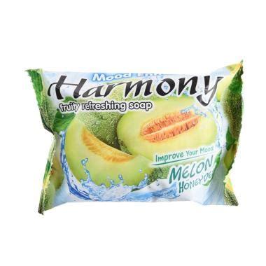 Harmony Fruity Soap Melon 70g jual sabun batang harga menarik blibli