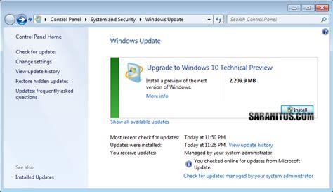 tutorial update windows 7 ke 10 ว ธ อ พเกรด windows 7 หร อ 8 8 1 เป น windows 10 technical