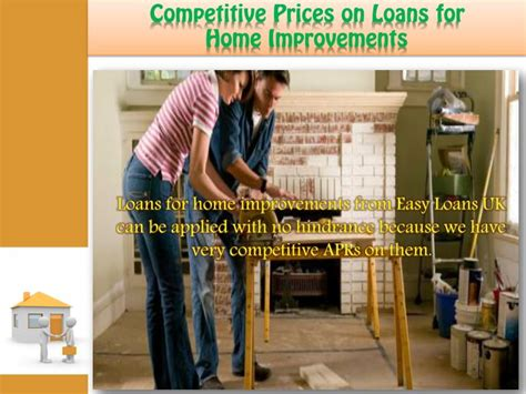 ppt home improvement loans on reasonable prices