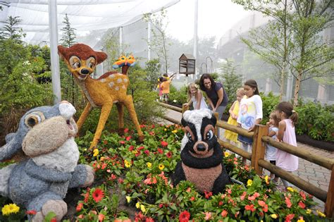 19th epcot international flower garden festival march 7 may 20 mickey