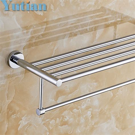 brass towel racks for bathrooms free shipping bathroom towel holder brass towel rack 60cm