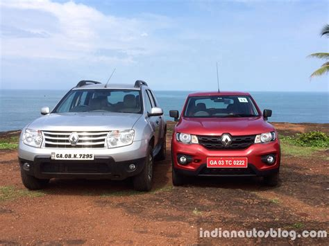 Renault Kwid vs Renault Duster   Indian Autos blog