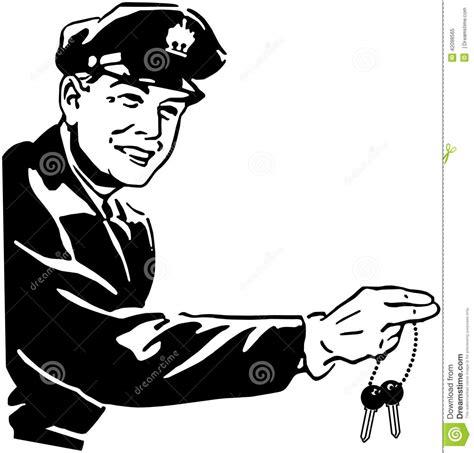 car jockey stock vector image 42098565