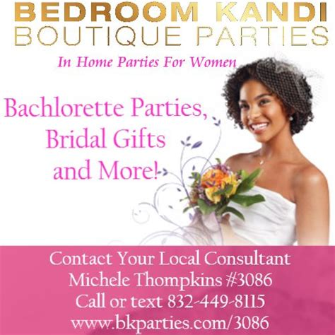 how to become a bedroom kandi consultant be a bk bride bedroom kandi parties by michele 3086
