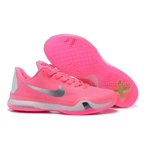 pink and white basketball shoes nike 10 think pink pe pink white silver