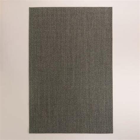 world market sisal rug charcoal jacquard woven sisal area rug world market