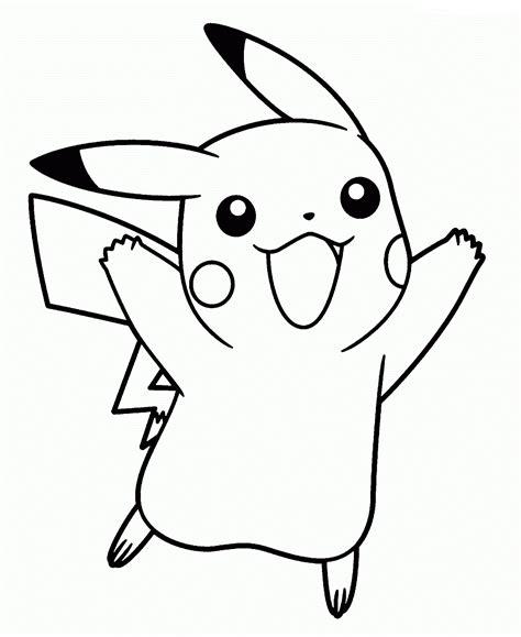 pikachu face coloring pages dibujos de pikachu para colorear e imprimir gratis